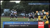 Hampton Roads Sports Report | 2013 High School Football Week 1