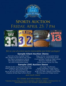 Virginia Sports Hall of Fame Sports Auction @ Portsmouth | Virginia | United States