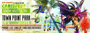 9th annual Virginia CaribFest @ Town point park
