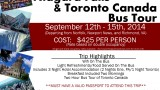 Niagara Falls and Toronto Canada Bus Tour – Fundraiser to Benefit the Foundation for Sarcoidosis Research