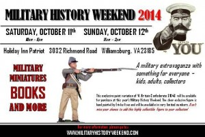 Military History Weekend 2014 @ Holiday Inn Patriot | Williamsburg | Virginia | United States