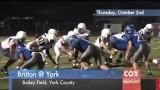 Cox High School Sports Report: Bruton @ York