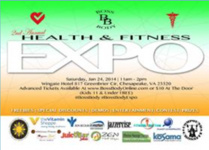 2nd Annual Health & Fitness Expo  @ Chesapeake | Virginia | United States