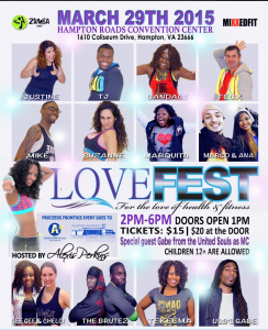 Zumba Love Fest @ Hampton Roads Convention Center | Hampton | Virginia | United States