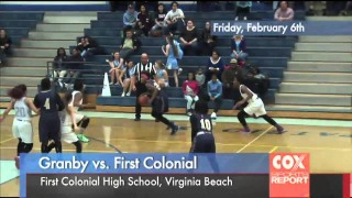 Sports Report: Granby vs. First Colonial