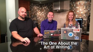 "Blog talk TV Episode 8 – ""The One About the Art of Writing"""