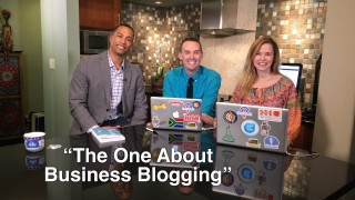 """Blog Talk TV – Episode 12 """"The One About Business Blogging"""""""
