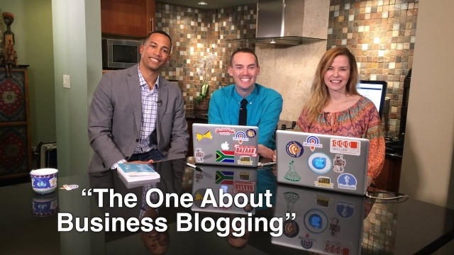 "Blog Talk TV – Episode 12 ""The One About Business Blogging"""