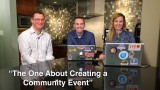 "Blog talk TV – Episode 13 ""The One About Creating an Event"""
