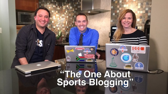 """Blog Talk TV – Episode 14 """"The One About Sports Blogging"""""""