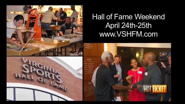Virginia Sports Hall of Fame Museum Induction 2015