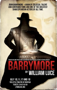 """Barrymore"" at Little Theatre of Norfolk @ Little Theatre of Norfolk 