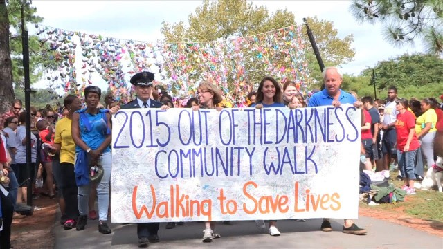 Out of the Darkness Suicide Prevention Walk 2015