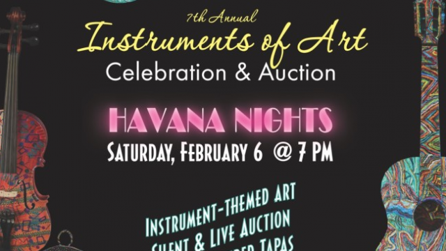 Instruments of Art Celebration & Auction Preview