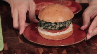 Cooking from the Heart 201C – Spinach Burgers