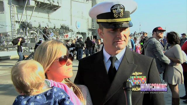USS Normandy Comes Home – Homecoming 602 Seg D