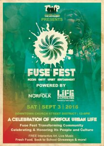 2016 FUSE FEST @ CHURCH STREET PARK | Norfolk | Virginia | United States
