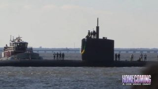 Return of the USS Montpelier Submarine – Homecoming 603 Seg C 2016