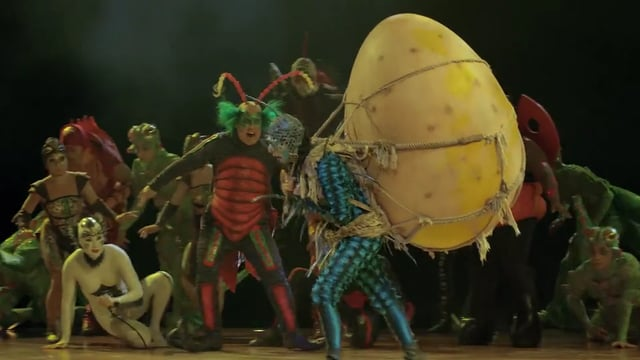 Cooking from the Heart Special – Cirque du Soleil's OVO
